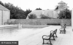 St Athan, Boys' Club Swimming Pool c.1963