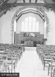 St Athan, Boys' Village, Chapel Interior c.1955