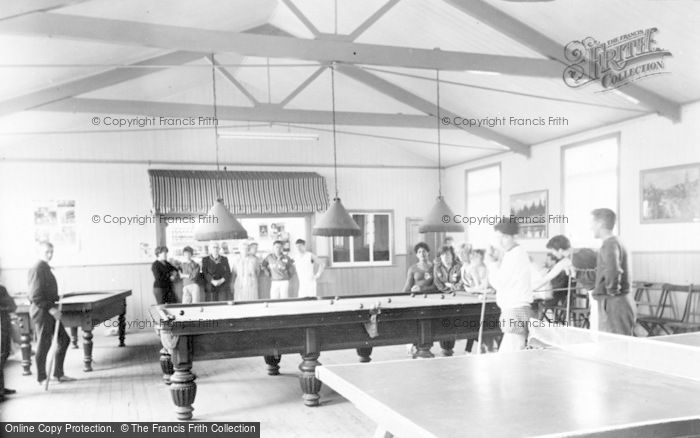 St Athan, Boys' Village, the Games Room c1963