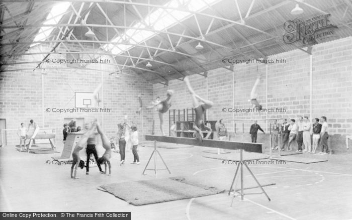 St Athan, Boys' Village, the Gymnasium c1963