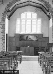 St Athan, Chapel Interior c.1955