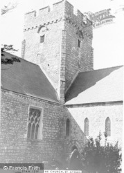 Church Of St Tathan c.1965, St Athan