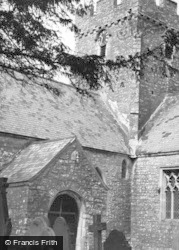 St Athan, Parish Church From South West c.1960