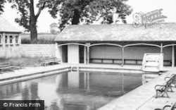 St Athan, The Boys Camp Swimming Pool c.1955