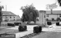St Athan, The Boys Camp War Memorial And Huts c.1955
