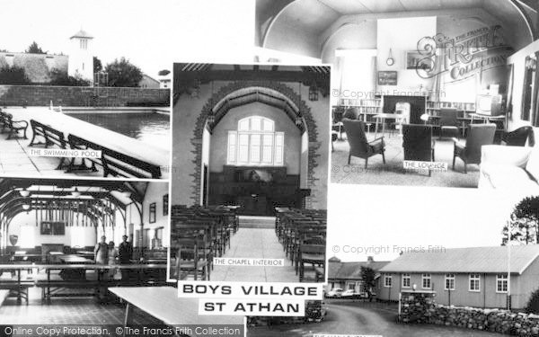 Photo of St Athan, The Boys Village Composite c.1955
