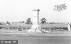 St Athan, The Memorial c.1965