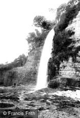 St Audries Bay, Waterfall 1903