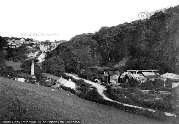 St Austell,Gover Mill 1920,Cornwall