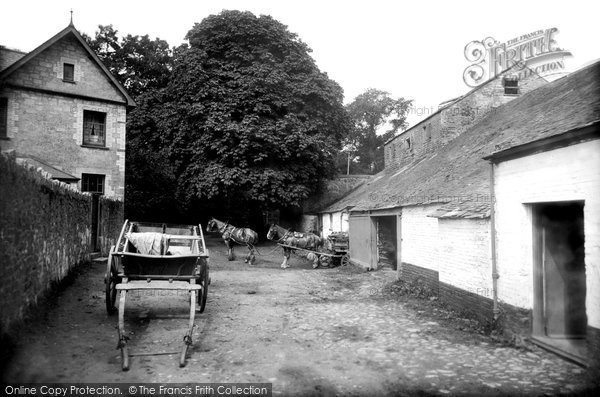 St Austell,Pondhu Mill 1912,Cornwall