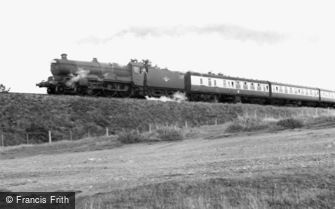 St Austell, the Cornish Riviera Express c1955