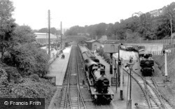 The Railway Station 1912, St Austell
