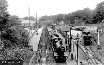 St Austell, the Railway Station 1912