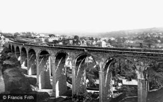 St Austell, the Viaduct 1898