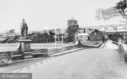 Memorial And Church c.1960, St Bees