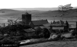 The Church c.1960, St Bees