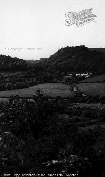 St Blazey,Ponts Mill c1955,Cornwall