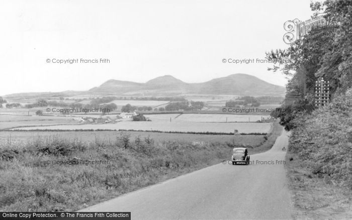 Photo of St Boswells, Eildon Hills c.1955