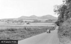 St Boswells, Eildon Hills c.1955