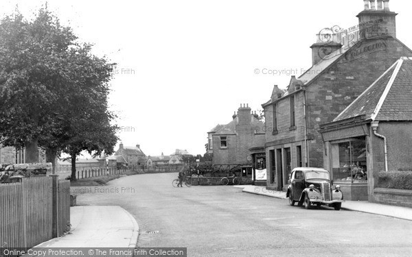 Photo of St Boswells, Main Street c.1955