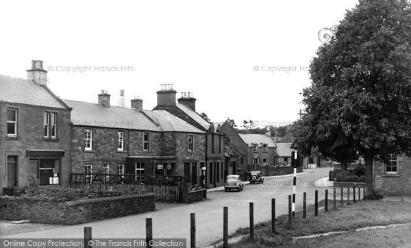 Photo of St Boswells, Main Street c.1955