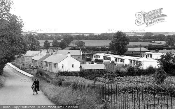 Photo of St Boswells, New Houses c.1955