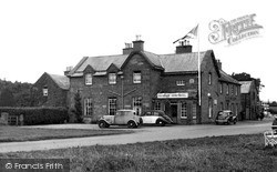 The Buccleuch Arms Hotel c.1950, St Boswells