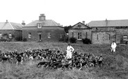St Boswells, The Buccleuch Hounds c.1955