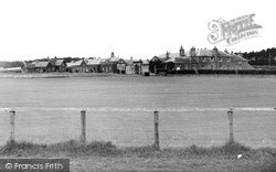 The Cricket Ground c.1955, St Boswells
