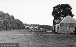 The Green c.1955, St Boswells