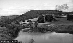 Bigsweir Bridge c.1955, St Briavels