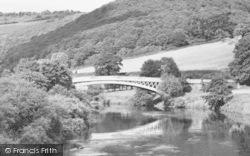 St Briavels, Bigsweir Bridge c.1955