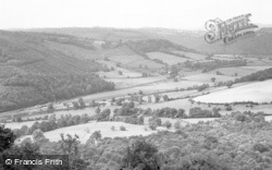 St Briavels, Bigsweir Bridge From The Hudnalls c.1955