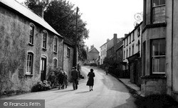 St Briavels, Chepstow Road c.1955