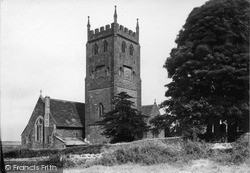 St Mary's Church c.1950, St Briavels