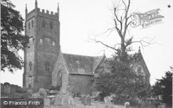 St Briavels, St Mary's Church c.1955