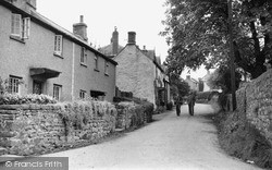St Briavels, The Back Lane c.1955