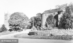 St Briavels, The Castle And St Mary's Church c.1960