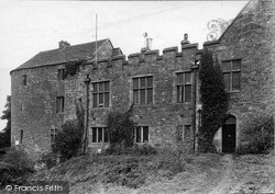 The Castle c.1955, St Briavels