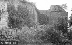 St Briavels, The Castle From Post Office c.1950