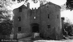 The Castle Gatehouse c.1960, St Briavels