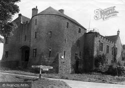 The Castle, Main Entrance c.1955, St Briavels