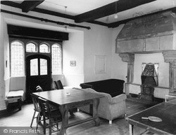 St Briavels, The Castle, The Common Room c.1960