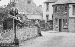 St Briavels, The Square c.1955
