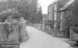 St Briavels, View From Post Office c.1950