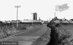 St Buryan, Approach To Village c.1960