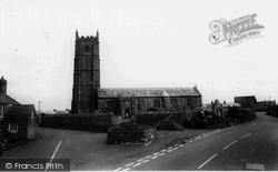 St Buryan, Church c.1960