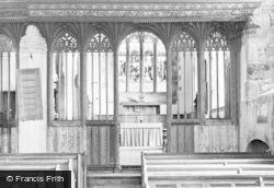 St Buryan, Church Screen c.1955