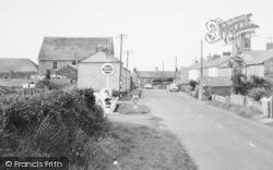 St Buryan, Filling Station And Village c.1960