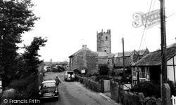St Buryan, Village c.1960